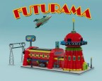 lego ideas 2020 news - Futurama Planet Express Headquarter, Spaceship and the Crew by ThomasW