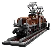 LEGO Crocodile Locomotive (10277) - profile light