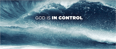 In these unsettling times remember that God is alive and in control. Take comfort. It may look like the devil has gotten the upper hand, but it's temporary.