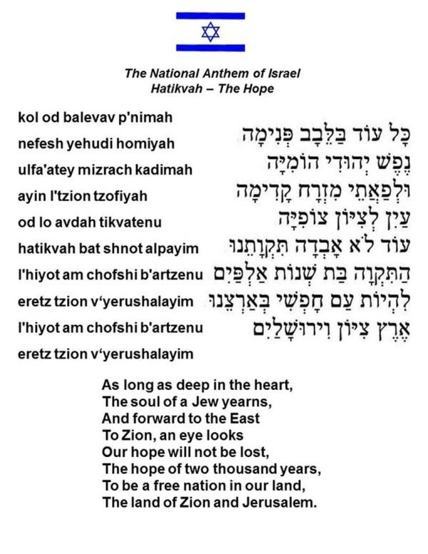 Israel | Nashen Notes