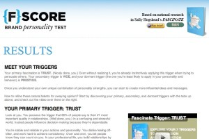 {F}Test results