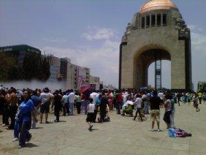 Plaza de la República - Fuentes nuevas