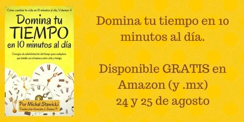 """Promoción de """"Domina tu tiempo"""""""