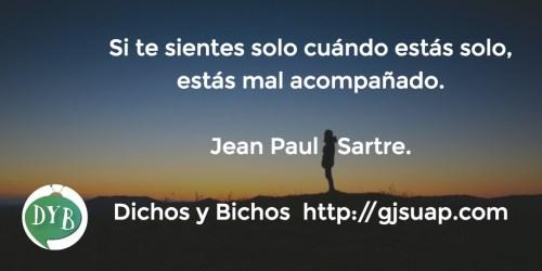 Soledad - Sartre