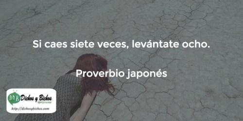 Caídas - Proverbio japonés