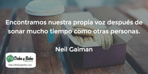 Voz - Gaiman