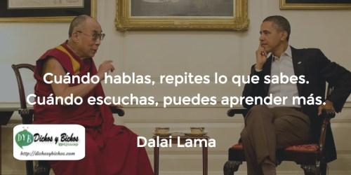 Escuchar - Dalai Lama