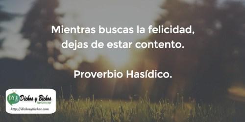Felicidad - Proverbio