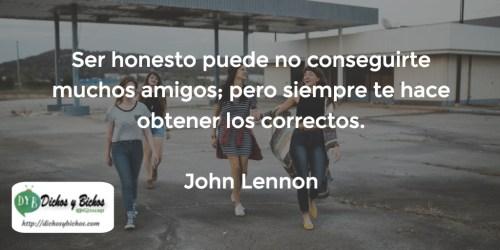 Honestidad - Lennon