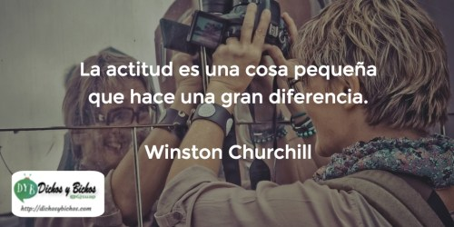 Actitud - Churchill