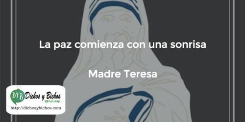 Paz - Madre Teresa