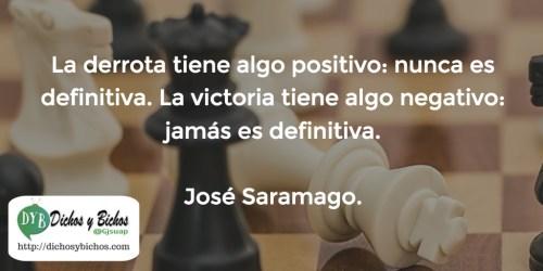 Derrota, Victoria - Saramago
