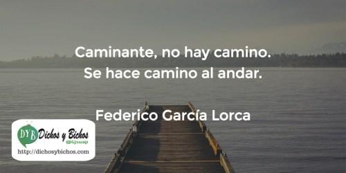 Camino - Machado (García Lorca)