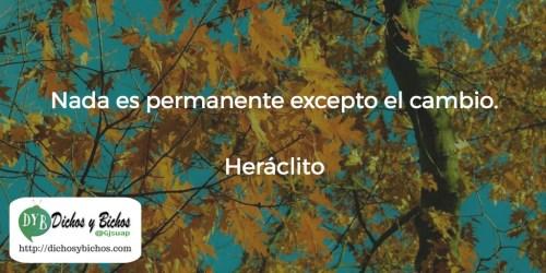 Cambio - Heráclito