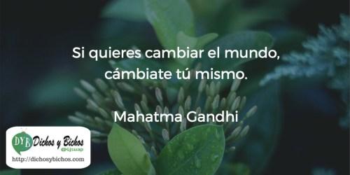 Cambio - Gandhi