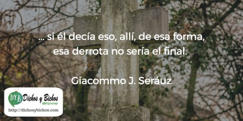 Derrota - Seráuz