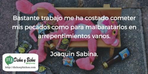 Pecados - Sabina