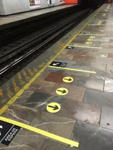 Señalización en el Metro