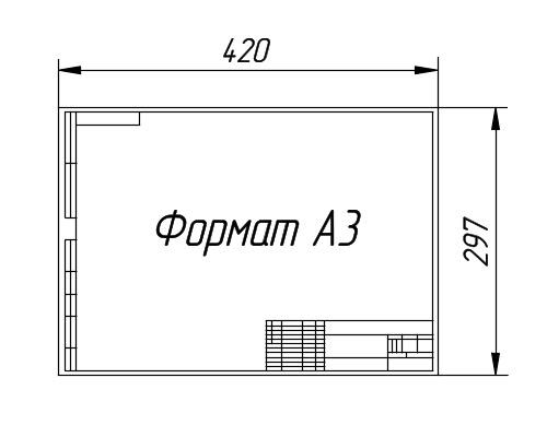 Размер А3 Листа Фото