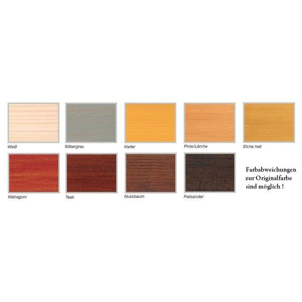 Remmers Holzschutz Creme Farbkarte