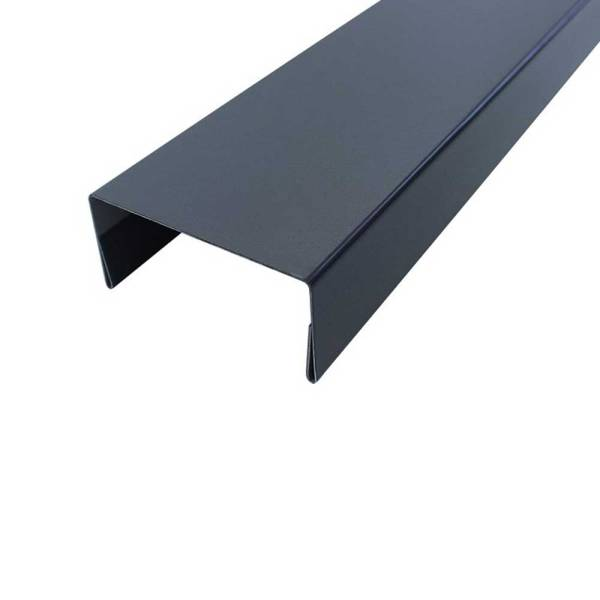 Metall-Abdeckleiste-graphitgrau