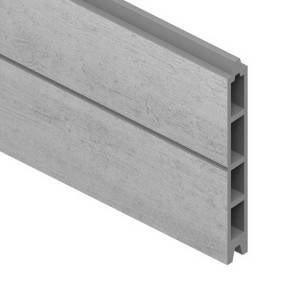 System-WPC-Moderna-Einzelprofil-silber