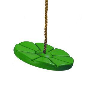 Tellerschaukel aus Kunststoff apfelgrün