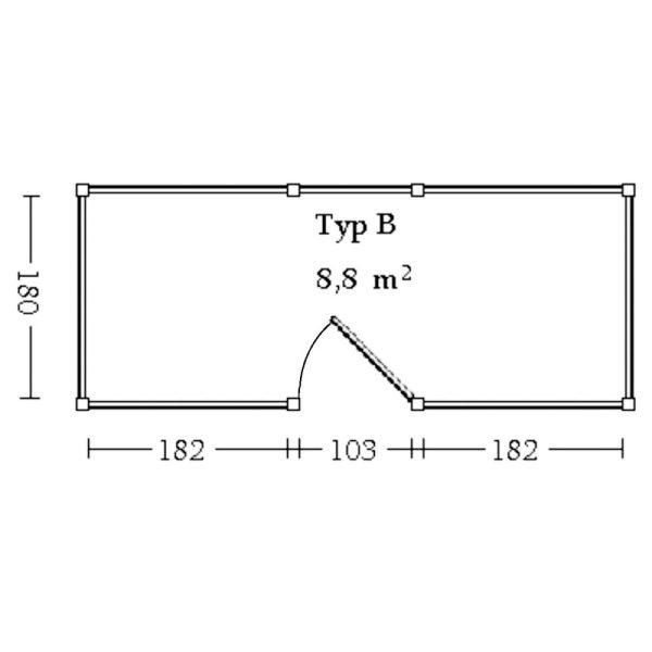 Einbaugeräteraum-Köln-Typ-B