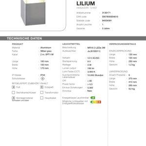 LED Standleuchte Lilium