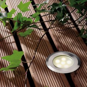 LED Bodeneinbauleuchte Sirius warm weiss