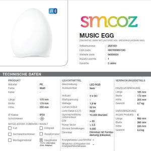 Smooz Music Egg