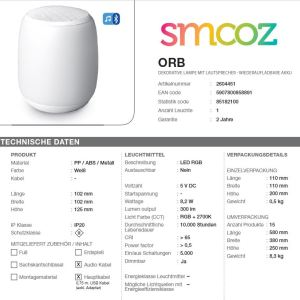 Smooz-Tischleuchte-Music-Orb