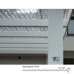 Prolux Dachplatte 70 18