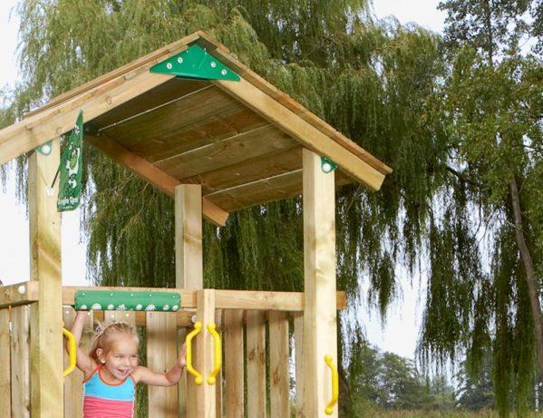 Spielturm Casa mit festem Dach