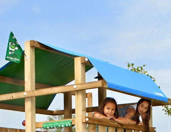 Spielturm Fort Zeltdach