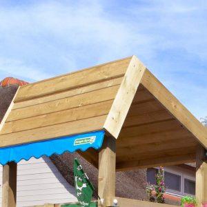 Spielturm Home mit Holzdach