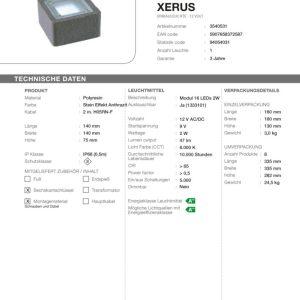 LED Bodeneinbaustrahler Xerus