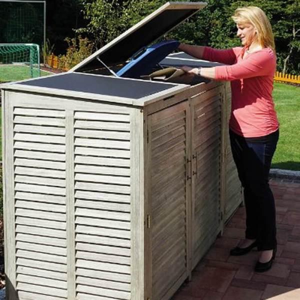 Müllbox-Newtown-Doppelbox-240-Liter-Vintage
