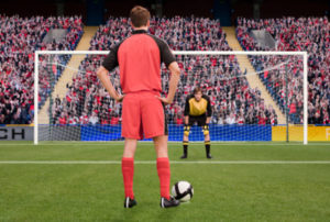 Penalty Spot -Football Match
