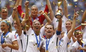 Women's World Cup- Football play
