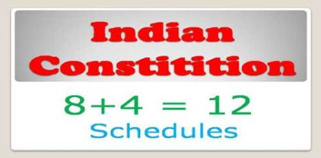 GK> All 12 Schedules of Indian Constitution [PDF]