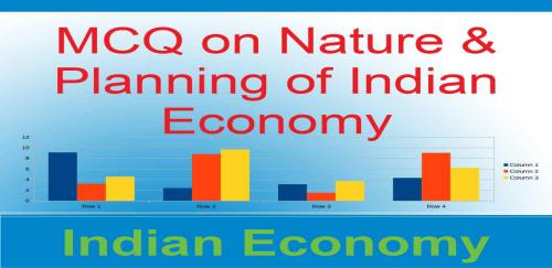 MCQ on Nature & Planning of Indian Economy