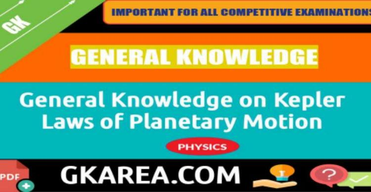 Kepler Laws of Planetary Motion