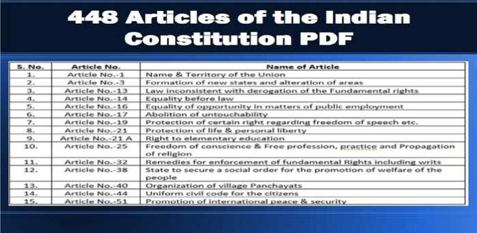 All (448) Articles of the Indian Constitution [PDF]