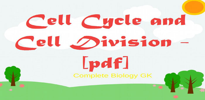 cell-cycle-cell-division general knowledge