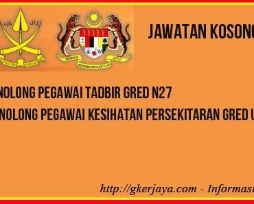Jawatan Kosong Kerajaan Pahang