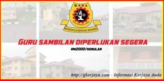 Guru Sambilan di Maktab Rendah Sains MARA