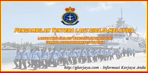 Permohonan Jawatan Tentera Laut Diraja Malaysia