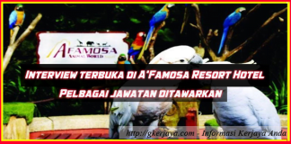 walk-in Interview A Famosa Resort Hotel