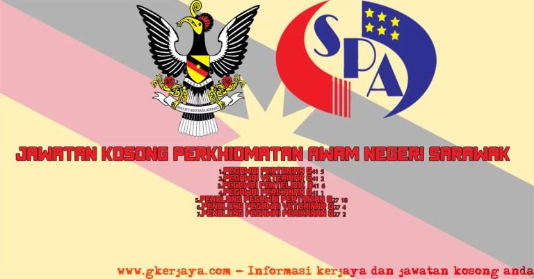 Jawatan Kosong Perkhidmatan Awam Negeri Sarawak